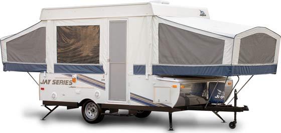 Jayco Jay Series camping trailer exterior
