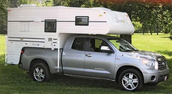 Northstar Freedom truck camper exterior