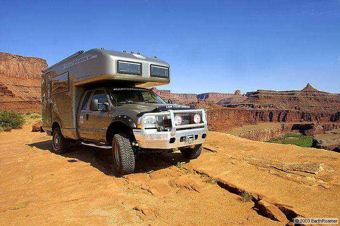 earthroamer f-550 in action