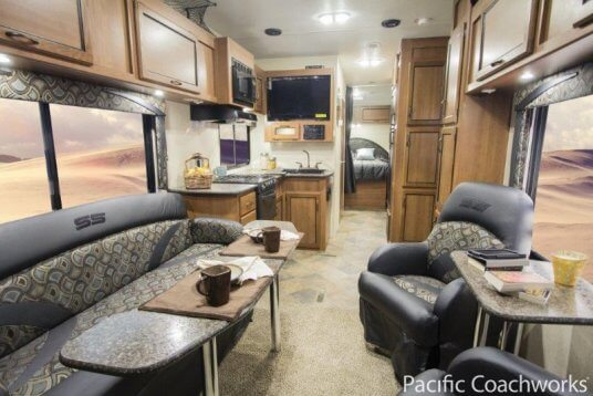 2014-pacific-coachworks-sandsport-fifth-wheel-F285FS-kitchen