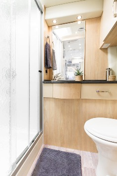 Bathroom Vent Fan >> 2015 Leisure Travel Vans Free Spirit Class B Motorhome | Roaming Times