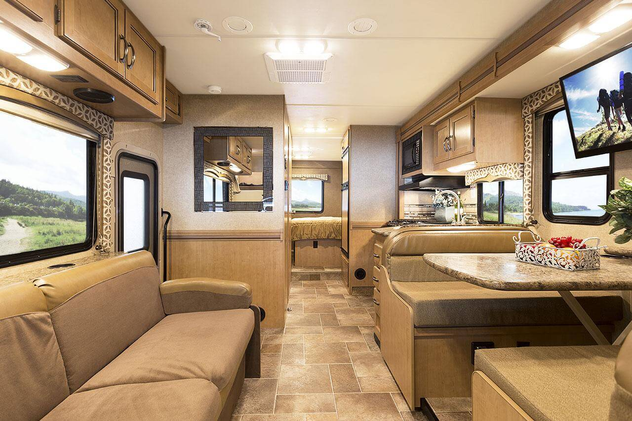 Thor 2015 31e Bunkhouse Four Winds Class C Motorhome