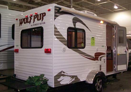 2011 Forest River Cherokee Travel Trailer Toy Hauler