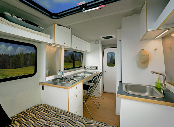 NEST Caravan By Airstream Now Here Mid48 Roaming Times Inspiration Airstream Interior Design Minimalist