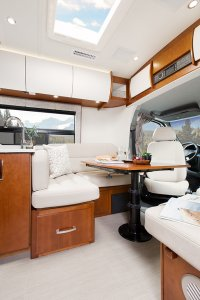 2017 Serenity Leisure Travel Van Class B Dining