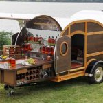 Bulleit Bourbon Travel Trailer Tailgate