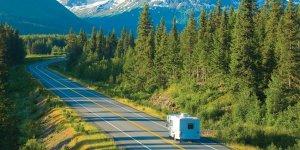 RV Rental Class C Road Alaska