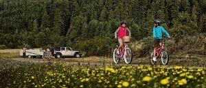 RV Parks Recreation Bike Riding