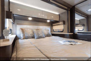 2017 Thor Compass 23TB Bedroom