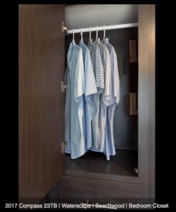 2017 Thor Compass 23TB Wardrobe Closet