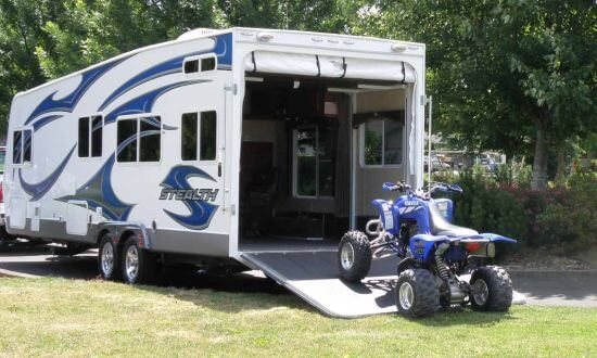 Travel Trailer Toy Hauler