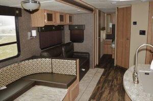 2017 Shasta 33BH Interior Living Room