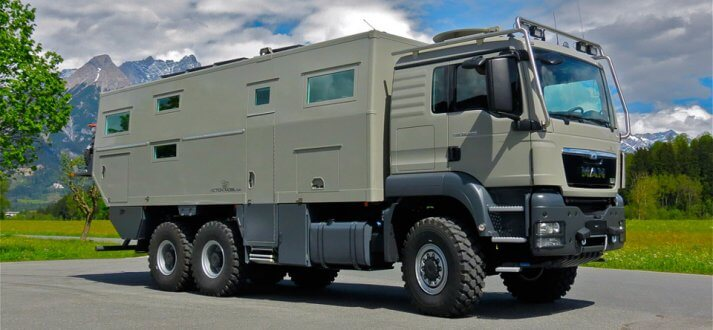 Action Mobil Globecruiser 7500 Side View