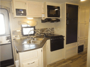 Winnebago 2017 Minnie 2500FL Kitchen View