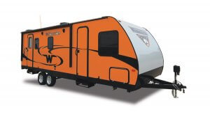 Winnebago 2017 Minnie 2500FL Orange