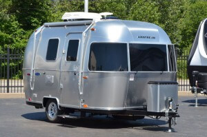2017 Airstream Sport 16 Exterior Front Angle