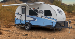 2018 Forest River R-pod Exterior View And Awning