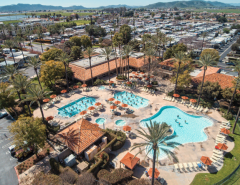 Golden Village Palms Overhead View