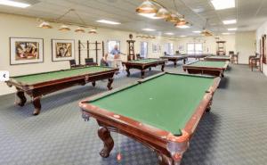 Golden Village Palms RV Resort Billiard Room