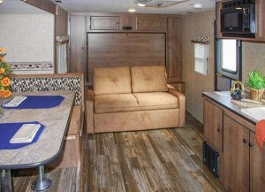 KZ Spree Escape Travel Trailer Interior