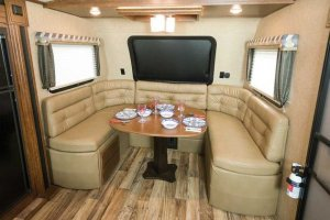 Keystone Outback Living And Kitchen Seating Interior