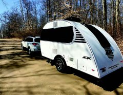 TearDrop Travel Trailer generating strong interest.