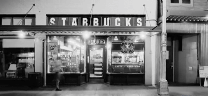 3.Starbucks Original Seattle Storefront