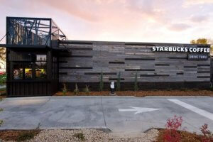 Starbucks Container Refurbish Store