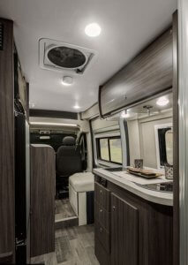 Interior Winnebago Travato 59G