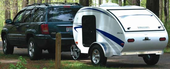 Little Guy Teardrop Travel Trailer