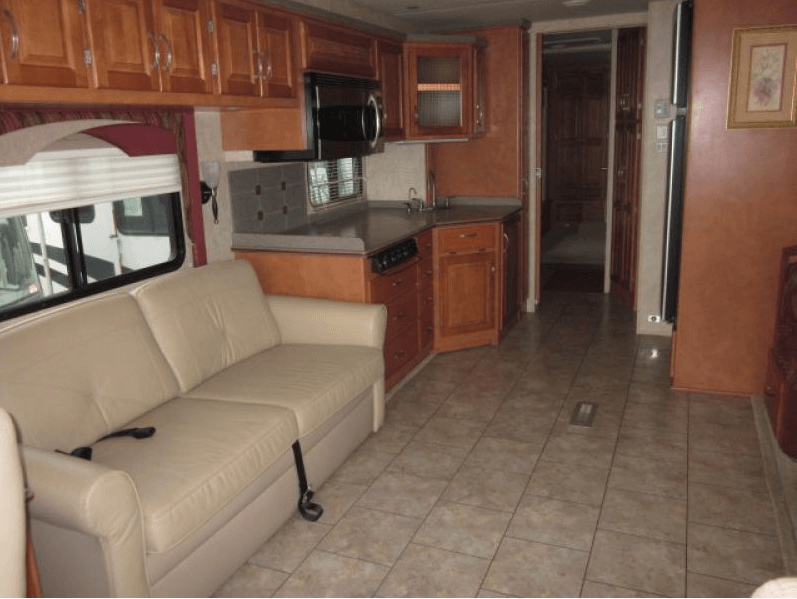 2008 Newmar Ventana Living Room and Galley