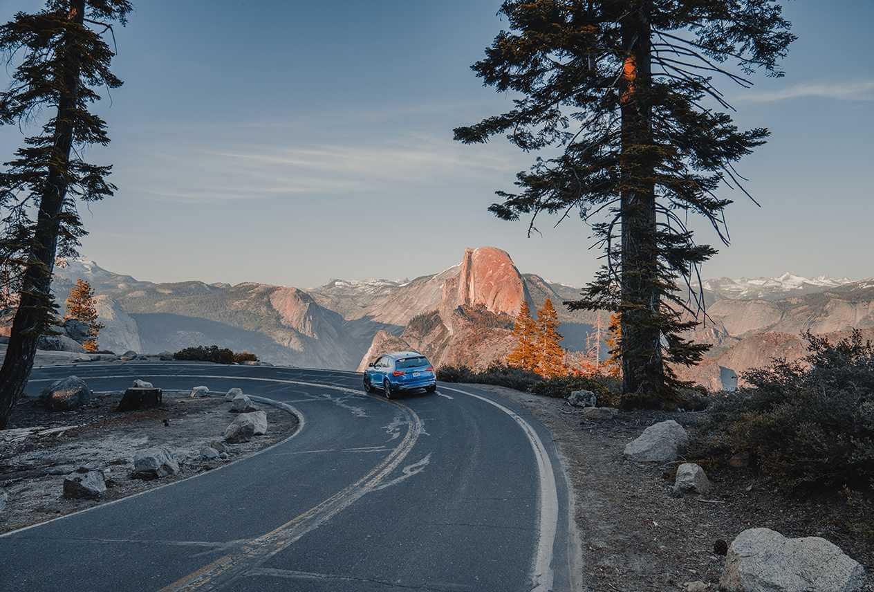 Mtn Range View City Escape Drives
