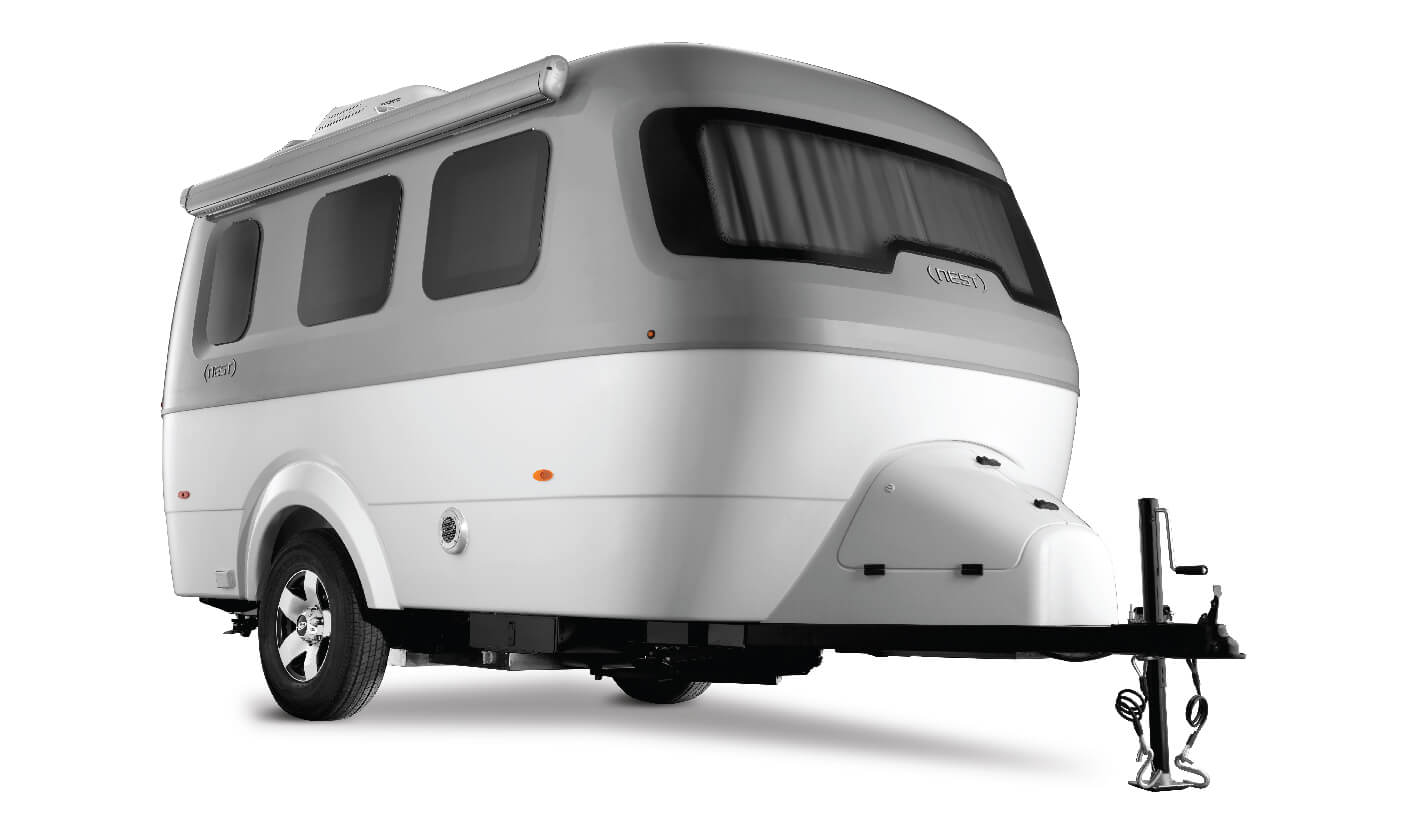 Nest Travel Trailers Exterior View