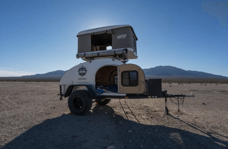 Teardrop RV Life with Rooftop Tent