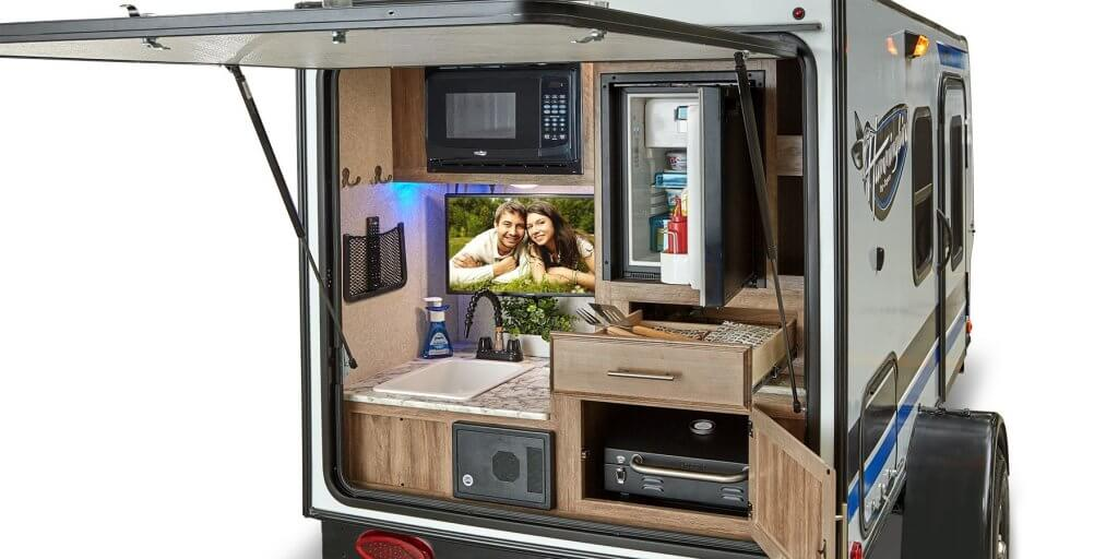 Jayco Hummingbird Outdoor Kitchen
