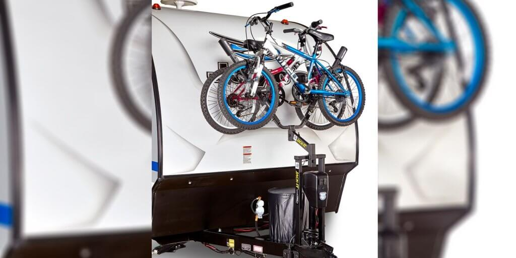 Bike Rack - Trail Riding - Travel Trailer Jayco