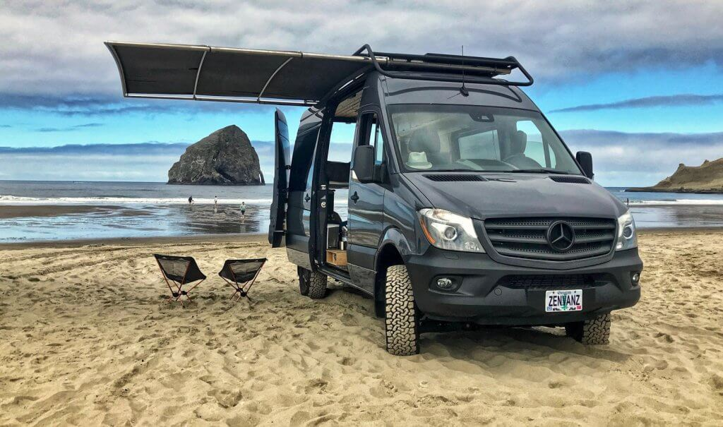 5c0aeb782b04 The Oregon-based company Zenvanz turns vans into adventure vehicles.