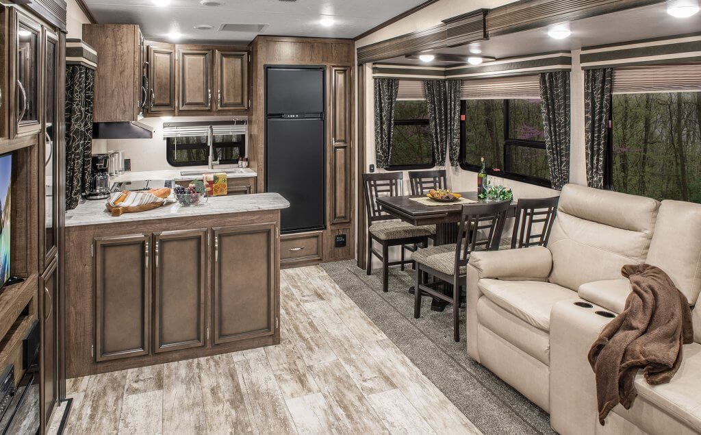 2019 Durango Fifth Wheel Kitchen