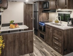 2019 Travel Trailer Kitchen