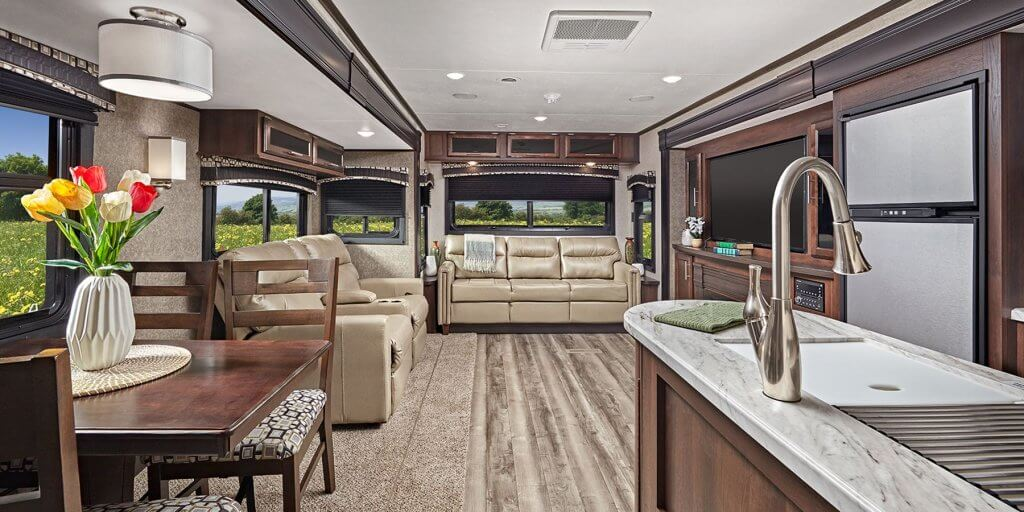 Theater Seating Jay Flight RV