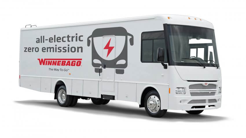 2019 Winnebago Electric Bus - 2019 Best of