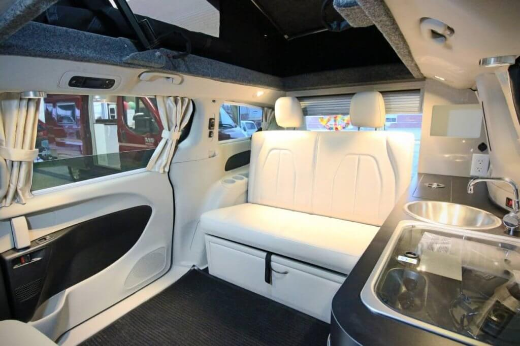 interior mini-campervan hybrid