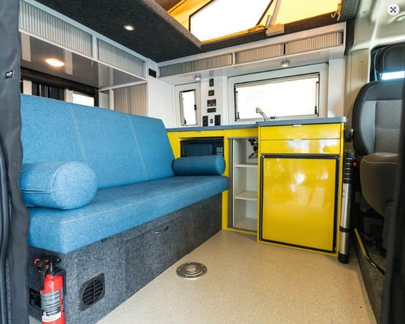 Imagine Campervan - interior