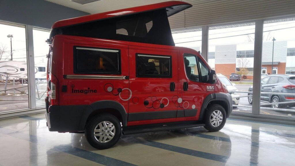 Campervan style based on 280-hp Ram ProMaster