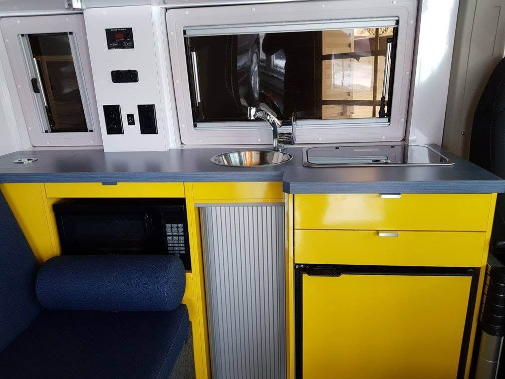 Imagine Campervan Kitchen Interior