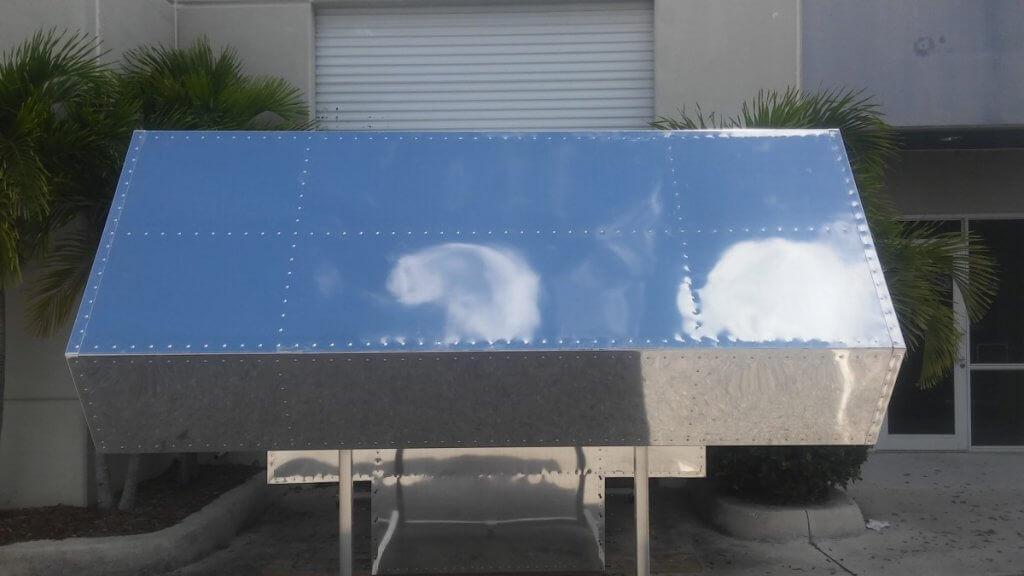 aluminum truck camper
