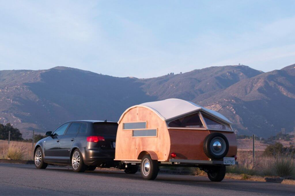 rv travel trailer teardrop hutte hut