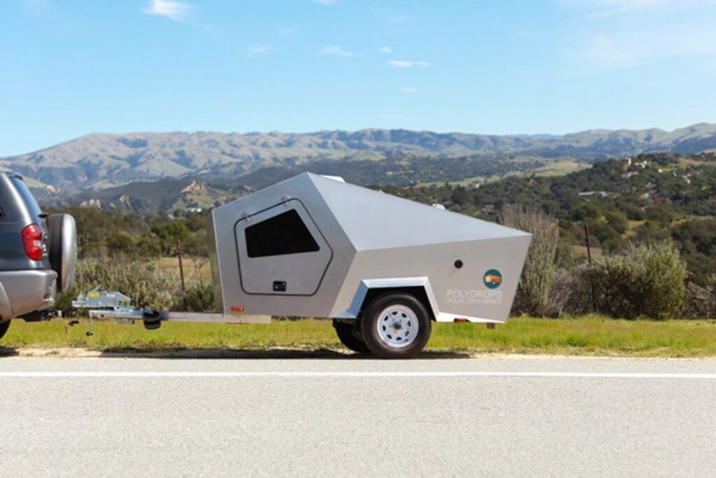 polydrop teardrop travel trailer RV