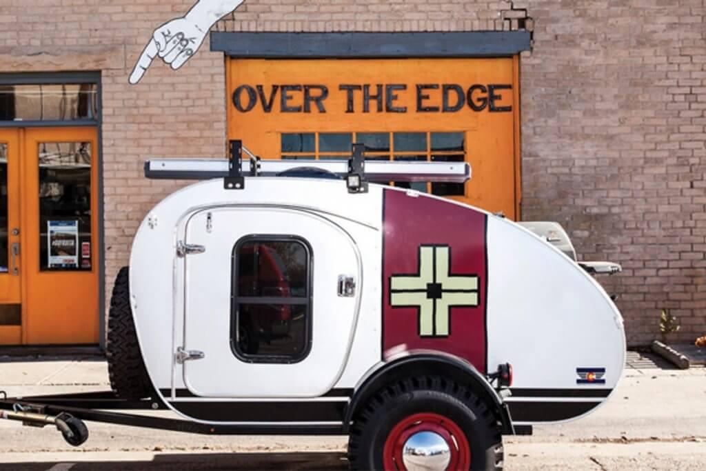 t.e. lawrence teardrop travel trailer