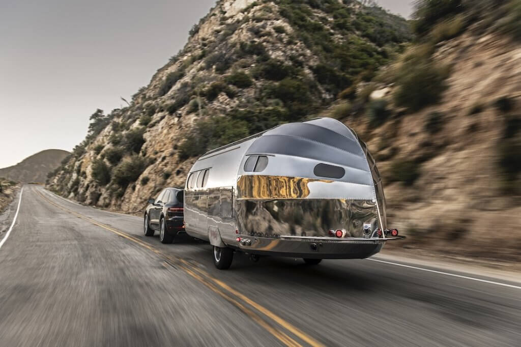Wave BeSpoke Travel Trailer Aircraft Aluminum Exterior